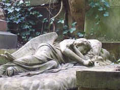 The most beautiful angel in Highgate Cemetery by Bods, via Flickr
