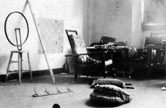 Marcel Duchamp's studio