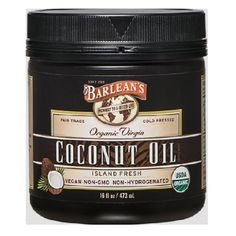 Barlean's Organic Virgin Coconut Oil, 16-Ounce Jar Barlean's Organic Oils