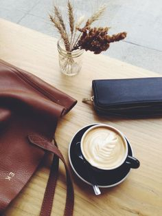 Sipping lattes and reflecting on the week.