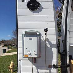 new van shower setup Show off your Sprinter Van! Tag new van shower setup Show off your Sprinter Van! Tag to be featured! Benz Sprinter, Sprinter Camper, Van Conversion Interior, Camper Van Conversion Diy, Camper Van Shower, Van People, Kombi Motorhome, Travel Camper, Van Dwelling