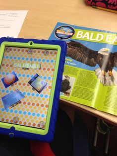 Non-fiction text features scavenger hunt-- simple iPad activity (or could cut and paste). The iPad way I save my magazines for future use!