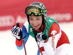 Switzerland's most talented young racer, Lara Gut Swiss Ski, Ski Club, Ski Racing, Ski Wear, Alpine Skiing, Field Hockey, Winter Sports, Ice Hockey, Cool Costumes