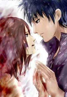 Rin and Obito.