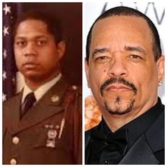 Rapper Ice-T served in the U. Army for 4 years. He was a squad leader in the Infantry Division and received an Honorable Discharge. Military Photos, Military History, Adele, Famous Veterans, Military Veterans, Military Service, Black Actors, Thing 1, American Soldiers