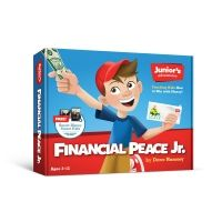 Financial Peace Junior is designed to help you teach your kids about money. It's packed with tools, resources and step-by-step instructions for parents. What can be intimidating is made ultra-easy. There are ideas for activities and age-appropriate chores Dave Ramsey Financial Peace, Money Makeover, Budget Planer, Thing 1, Junior, How To Raise Money, Book Activities, Teaching Resources, Teaching Kids