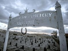 The First Tonopah Cemetery : Ghost Adventures: Clown Motel & Goldfield High School Pictures : TravelChannel.com