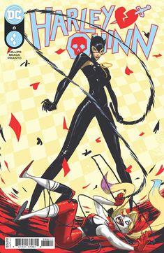 Harley Quinn, Catwoman, Riccardo Federici, Diamond Comics, Broody, Batman Family, Gotham City, New Face, Comic Covers