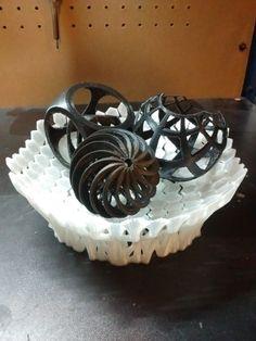 3D printed bowl of art!
