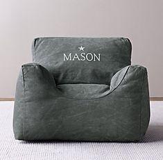 Bean Bags & Bean Bag Chairs | RH baby&child