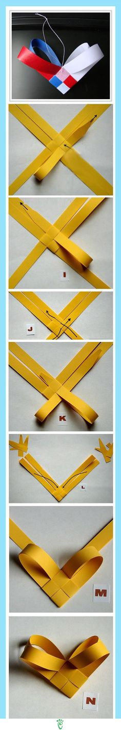 Adorno de papel