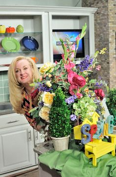 Getting ready for #Spring and #Easter with beautiful decorations. www.darcydiva.com