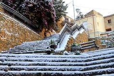 Leonforte-Nevicata del 31/12/2014