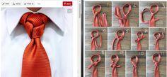 Fancy Necktie Knot Tutorial: Atomic knot in  11 steps