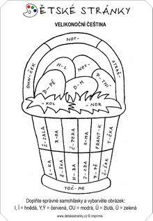 Velikonoční čeština Symbols, Letters, Words, Literatura, Autism, Icons, Fonts, Letter