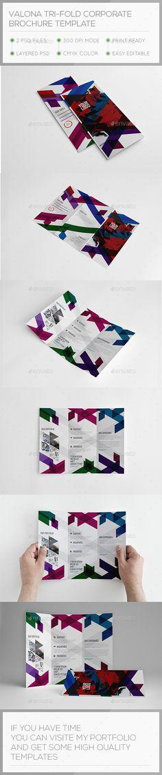 Tri-fold Brochure Template Orange, Photoshop and Psd templates - event brochure template