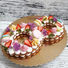 Už nikdy nebudete kupovať drahé torty v cukrárni: Túto nádheru môžete pripraviť úplne bez pečenia! Number Cakes, Cake & Co, Pavlova, Panna Cotta, Food And Drink, Birthday Cake, Pudding, Ethnic Recipes, Fondant