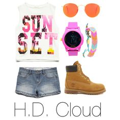 Tween fashion sunset love this but I would use sneakers instead