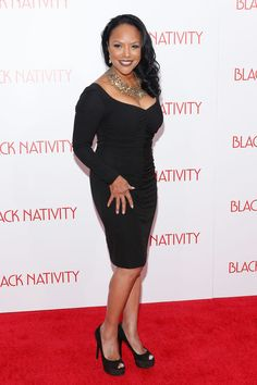 Lynn Whitfield at the 'Black Nativity' premiere in 2013