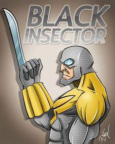 BLACK INSECTOR - POR ALLAN BARBOSA.