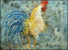 Gallo. Rooster- Contemporary Artist