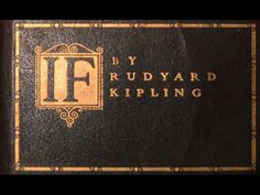 ▶ IF - Rudyard Kipling's poem, recitation by Sir Michael Caine - YouTube