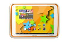 """Archos Childpad 80 8-inch Tablet (ARM Cortex A9 1GHz, 1GB RAM, 4GB Storage, Wi-Fi, Camera, Android 4.1). A real Android tablet: Jelly Bean OS, full HD 1080p video playback and mini HDMI output. Kidz zone' app - a selection of the best child-friendly games and apps. Parental Control - ensuring safe unsupervised web browsing. Multi-Touch 8"""" 1024 x 768 Display, Dual Cameras, Micro USB host, Mini HDMI output, micro SD slot upto 32GB. What is in the box:ARCHOS 80 ChildPad, USB cable, power..."""