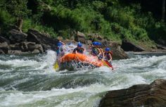 West Virginia: Gauley River National Recreation Area.. Whitewater rafting the Gauley was pretty scary for me...