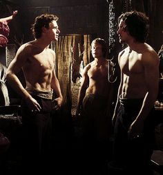 the sexy men of HBO's Game of Thrones