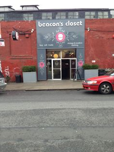 One of the best in NYC for thrift shopping: Beacon's Closet.