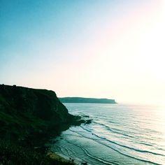 Cliffs Suances ,Cantabria, Spain