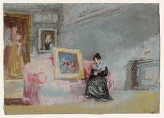 'Drawing Room, Farnley', Joseph Mallord William Turner