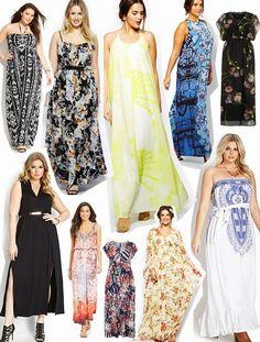 DIY FATSHION: FRIDAY FAVES: PLUS-SIZE MAXI DRESSES