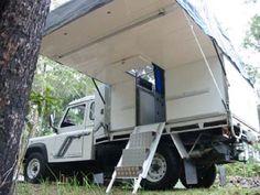 Landrover Slide Off Camper