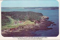 Passamaquoddy Bay, East Lubec