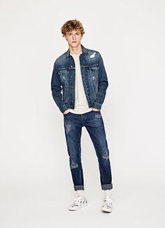 DENIM JACKET 'PINNER' Pepe Jeans, Denim Jacket Men, London, Coat, Clothes, Shopping, Collection, Fashion, Jackets