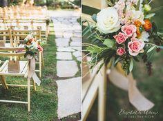 Dennis & Marisa's Forest House Lodge Wedding - beautiful wedding flowers