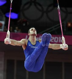 Inspirational moments: Danell Leyva comes back to win bronze in men's gymnastics all-around