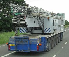 Crane Construction, Transportation, Porn, June, Trucks, Big, Places, Weights, Truck