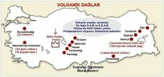Volkanik Dağlar TThere are many places to be visited in the world and Turkey. With our shares, you can see the places to visit and add them to your list. You can see the beauties of nature that exist on our Earth. Study Hard, Study Motivation, Geography, Notes, Ads, Education, Reading, Earth, Places
