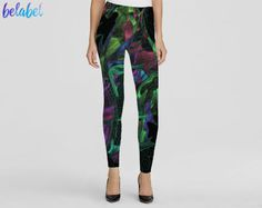 #drawing #painting #abstractpainting #leggings #extravagant #dragon