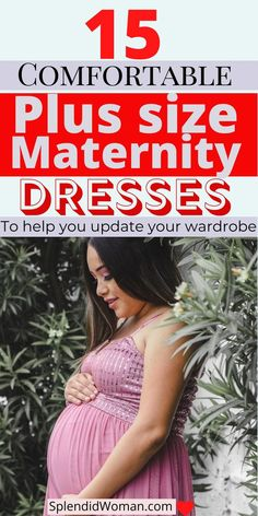 Want to change your wardrobe? Finding the perfect plus size maternity dresses is always a challenge to most moms-to-be. That's why I have collected 15 classy dresses to help you upgrade your wardrobe. Plus Size Maternity Dresses, Maternity Tops, Plus Size Dresses, Plus Size Outfits, Dresses For Work, Maternity Clothing, Plus Size Fashion For Women, Womens Fashion For Work, Maternity Underwear