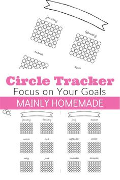 Track your goals for success with a yearly circle tracker for each month. Create the journal of your dreams with a printable yearly tracker for your bullet journal or planner. Printable Blank Calendar, Printable Labels, Printable Stickers, Printable Planner, Planner Stickers, Free Printables, Bullet Journal Tracker, Bullet Journal Printables, Bullet Journals