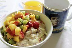 Eigentlich sollte ich ja Mahlzeiten pinnen, aber ich muss zugeben, dass mich bei Johannas Porridge-Frühstück auch ihre Spock-Tasse sehr fasziniert hat.