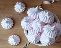 Desserts Recipe: ROSE MERINGUE KISSES Recipe