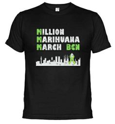 Million Marihuana March BCN 2014. #MMMbcn #MMM2014 #cannabis #weed #Barcelona #tshirt