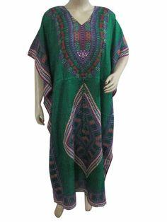 Womens Lounge Wear Kaftan, Dark Green Printed Satin Crepe Caftan Mother's Day Gift Mogul Interior,http://www.amazon.com/dp/B00CM2PWKW/ref=cm_sw_r_pi_dp_CIqgsb0QW7CKWWVF