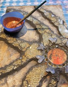 The metallic powders added to a sealer will add another layer of color and also seal the grout.