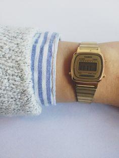Casio | Watch #watch #casio http://www.slideshare.net/leatherjackets/best-watches-reviews-2014-casio-gshock-black-watches-for-men