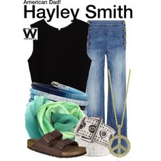 Inspired by Rachael MacFarlane (voice) as Hayley Smith on American Dad! Rachael Macfarlane, America Dad, Relaxed Outfit, Complete Outfits, Nicole Miller, What To Wear, Dads, Style Inspiration, Female